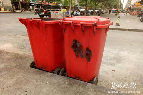 街头垃圾桶艺术