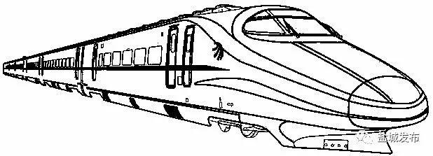 高铁怎么画简笔画步骤