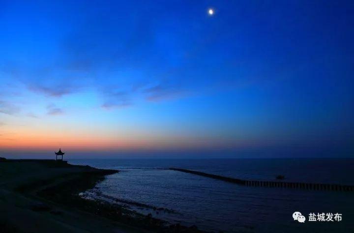 盐城再传喜讯!滨海港获批一类口岸,黄海边铺开一片月亮湾
