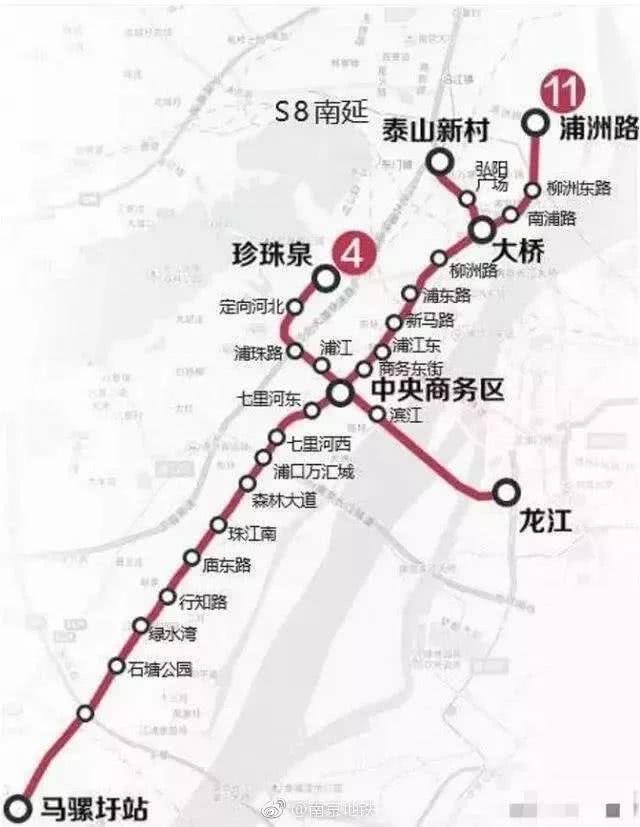 s8南延,2号线西延获批!7条南京地铁有新进展