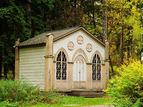 温馨怡然的小木屋