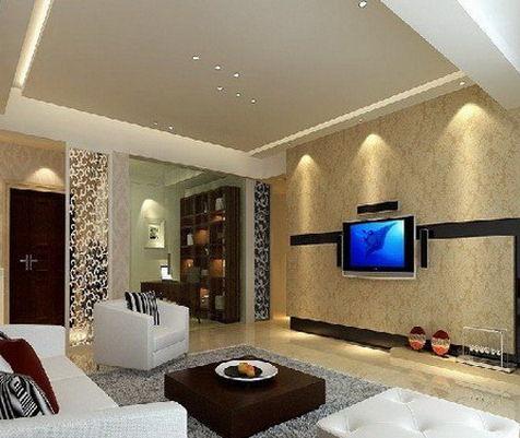欧式风格的背景墙 打造贵气魅力的客厅